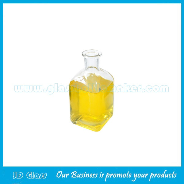6oz Clear Aroma Diffuser Glass Bottle
