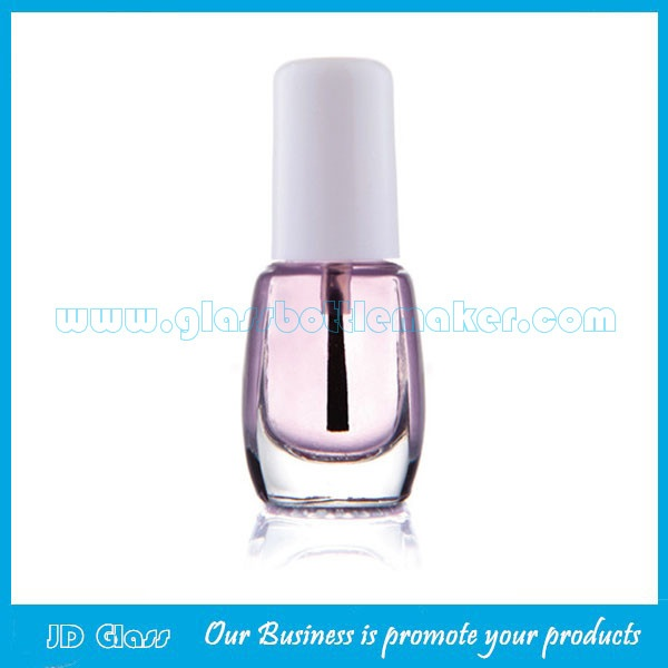 5ml Glass Nail Polish Bottle With Cap and Brush