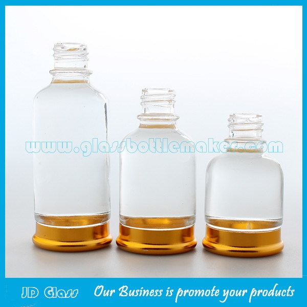 20ml,30ml,50ml Colored Base Essential Oil Glass Bottles With Flower Droppers