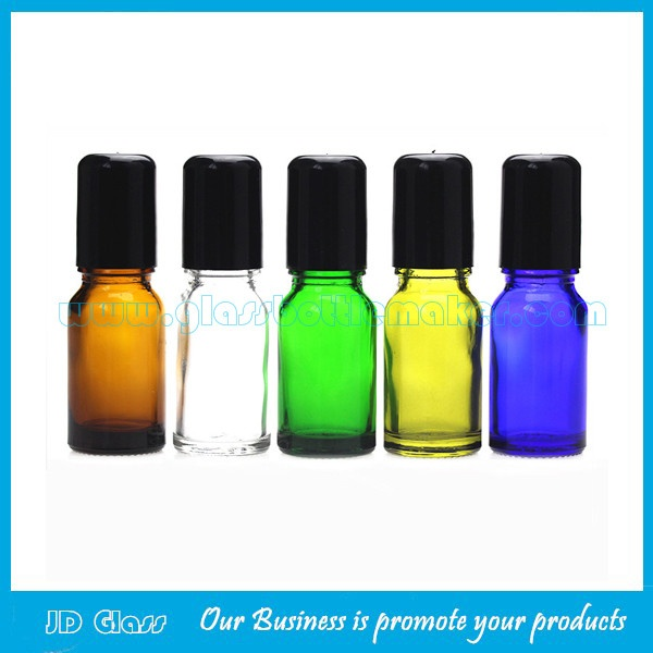 5ml Frost Perfume Roll On Bottle With Gold Cap and Roller