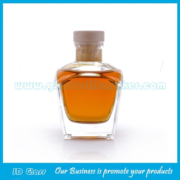 50ml Clear Glass Fragrance Bottle With Cork
