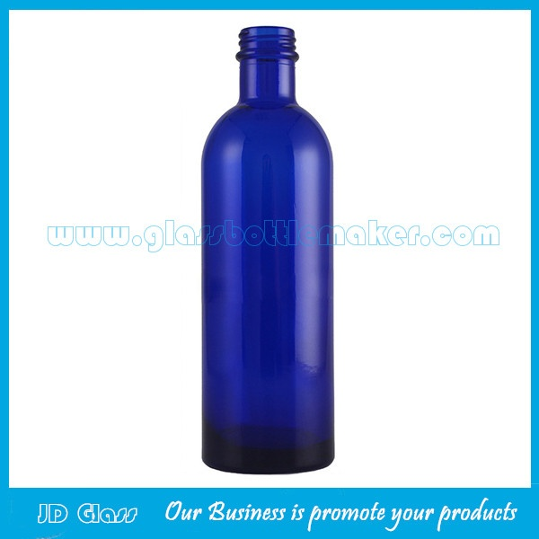 200ml Amber Long Neck Essential Oil Glass Bottle With Cap