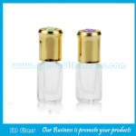 3ml,6ml,12ml Perfume Roll On Bottle With Gold Cap and Roller