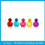 30ml High Quality Colored Painting Perfume Glass Sprayer Bottle With Cap
