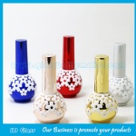 New Item Ball Glass Nail Polish Bottle With Cap and Brush