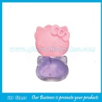 Hello Kitty 10ml Clear Glass Nail Polish Bottle With Cap