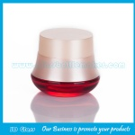 30g Color Painting Glass Cosmetic Jar With Lid