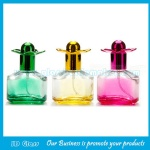20ml High Quality Colored Painting Perfume Glass Sprayer Bottle With Cap