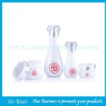 40ml,120ml Superior Quality Glass Lotion Bottles and 30g,50g Glass Cosmetic Jars