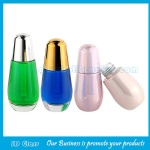 30ml Color Painting Glass Essence Bottles With Droppers