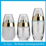 30ml,50ml Clear Glass Baby Cream Bottle With Pump