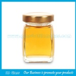 New Item High Quality Glass Honey Jars With Lids